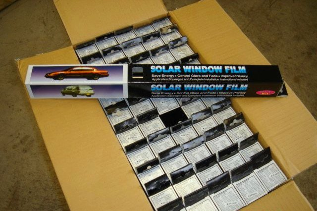 High Performance Window Film, DIY specially for your car DIY sizes Car Window Film