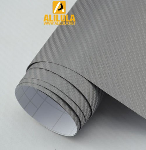 3DTQ-Gra, Gold High Flexible 1.52m*30m With Air Channel Bubble Free 3D Carbon Vinyl Film
