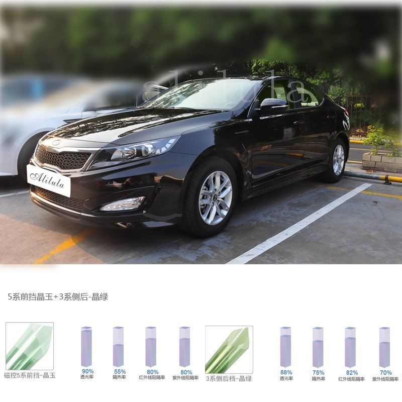 321, 1.52M*25M/30M/50M High Heat Reflective Automobile Window Film