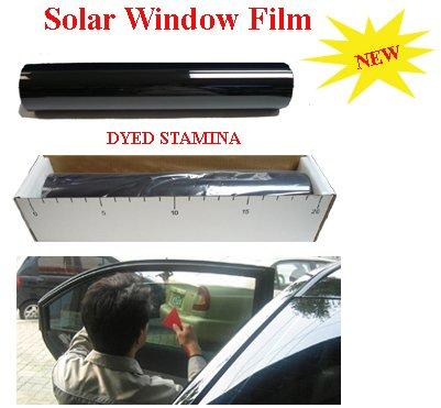 Super Dark Black 5% Window Tint Film,V-BK05