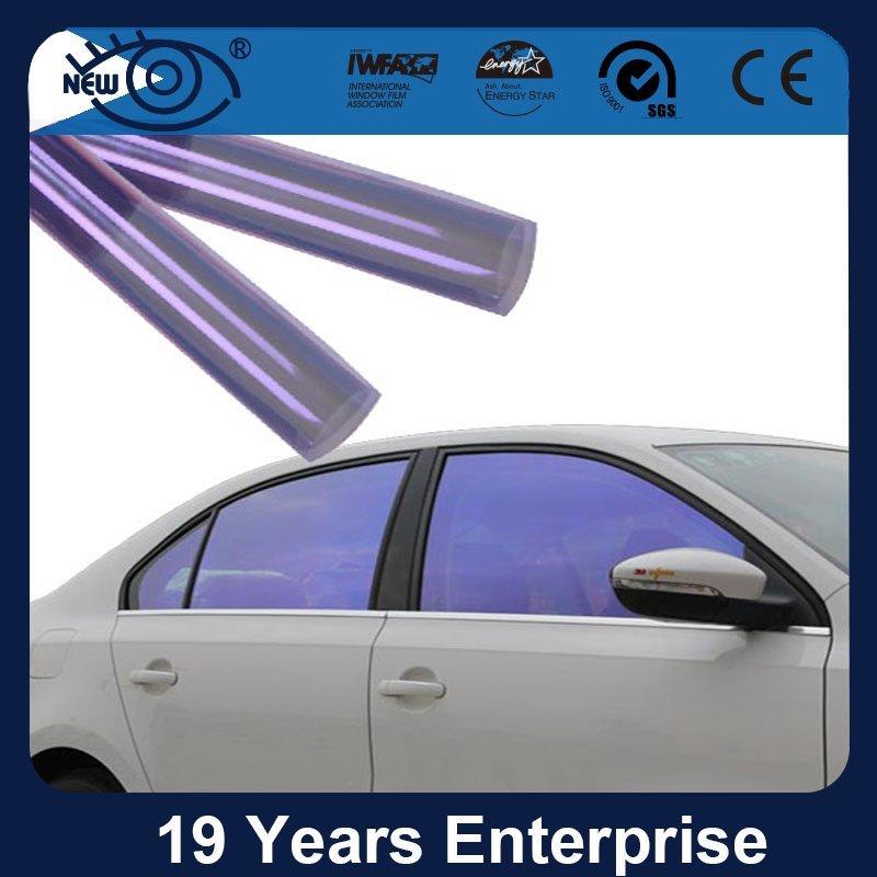 CM7080, Car window decoration and protection Chameleon Window Tint Film