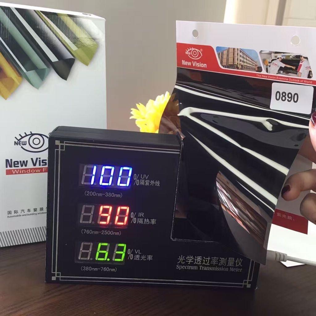IR0590, 1.52m*30m Black 5% VLT Solar Control Car Window Film
