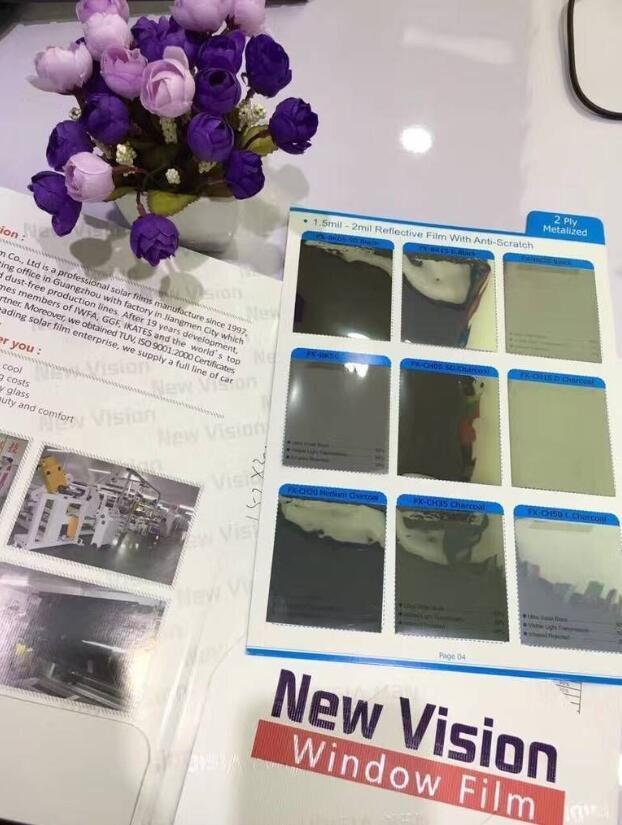 Laminated Titanium Reflective film, FX-BK15