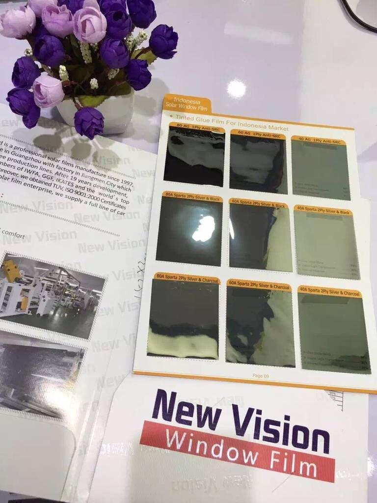 High Heat Rejection Solar Window Film, 40A Sparta Silver&Black